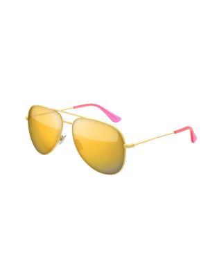 Солнцезащитные очки Saint Laurent. Цвет: желтый