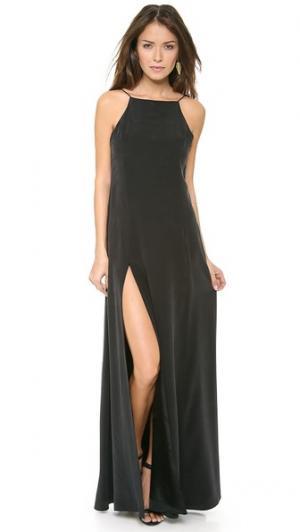 Макси-платье Portia Carmella. Цвет: голубой