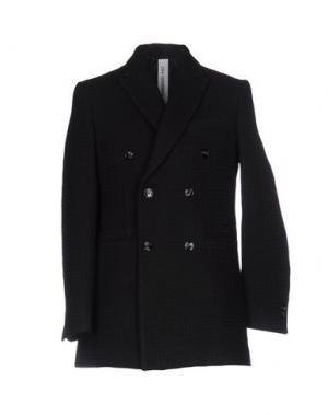 Пальто HAMAKI-HO. Цвет: черный
