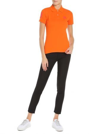 Рубашка-поло La Martina. Цвет: оранжевый