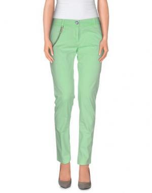 Повседневные брюки MODFITTERS. Цвет: светло-зеленый
