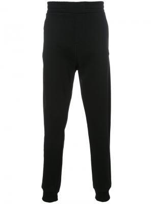 Спортивные брюки кроя слим Les Benjamins. Цвет: чёрный