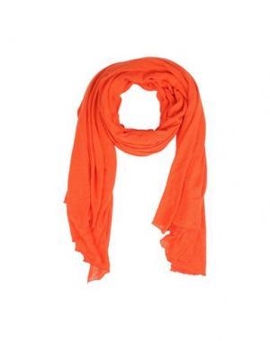 Палантин MAJESTIC. Цвет: оранжевый