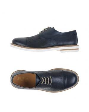 Обувь на шнурках GABARDINE. Цвет: темно-синий