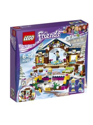 LEGO Friends Горнолыжный курорт: каток 41322. Цвет: синий