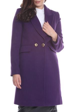 Пальто Bellissima. Цвет: фиолетовый