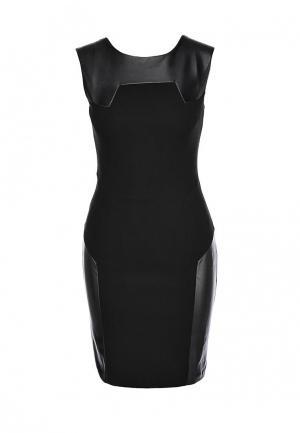 Платье Hybrid. Цвет: черный
