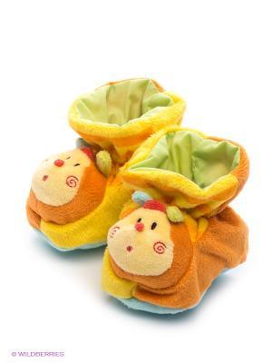 Пинетки Baby Nice. Цвет: желтый, оранжевый