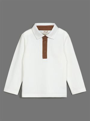 Сорочка ЕМАЕ. Цвет: кремовый