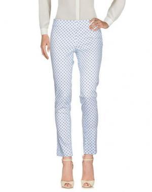 Повседневные брюки VERYSIMPLE. Цвет: небесно-голубой
