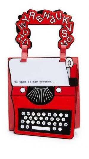 Сумка с изображением пишущей машинки Yazbukey