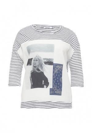 Лонгслив Brigitte Bardot. Цвет: черно-белый