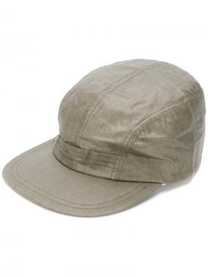 Классическая кепка Engineered Garments. Цвет: зелёный