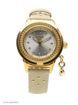 Часы Ferre Milano. Цвет: бежевый