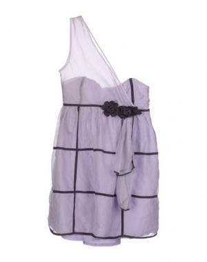 Короткое платье LUELLA. Цвет: сиреневый