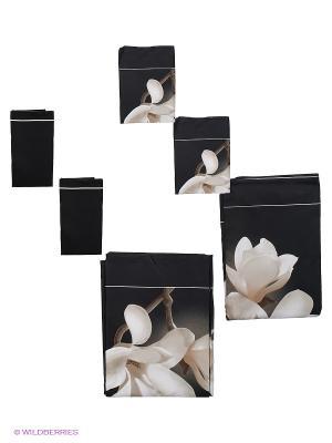 Комплект постельного белья Sofi de Marko. Цвет: черный, белый