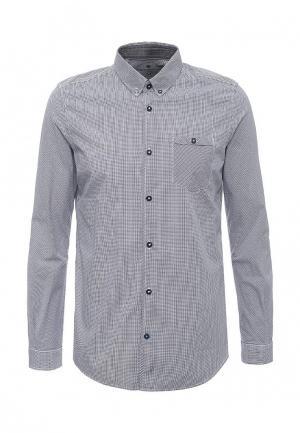 Рубашка Tom Tailor. Цвет: черно-белый