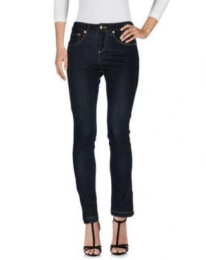 Джинсовые брюки GAI MATTIOLO JEANS. Цвет: черный