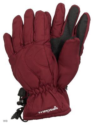 Перчатки непромокаемые VELAMIK. Цвет: бордовый