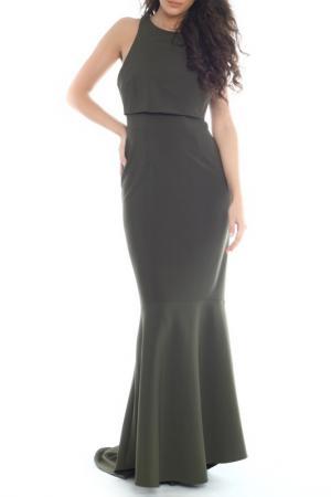Платье Emma Monti. Цвет: зеленый