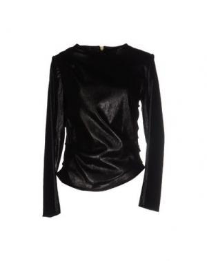 Блузка BOUCHRA JARRAR. Цвет: черный