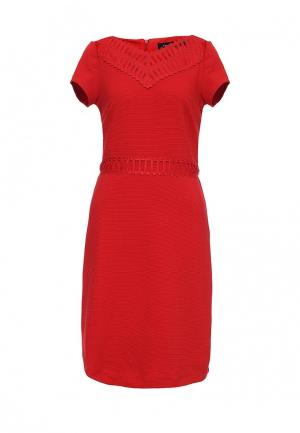 Платье Cortefiel. Цвет: красный