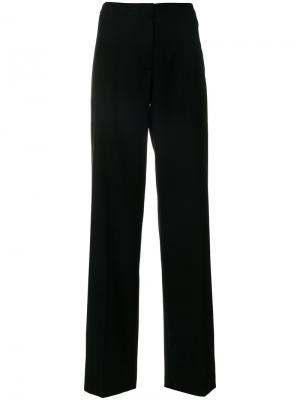Расклешенные брюки Tonello. Цвет: чёрный