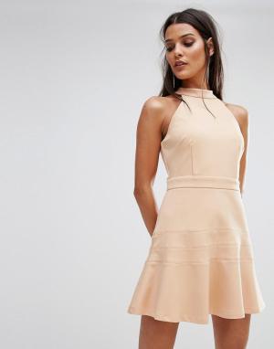 Finders Keepers Платье Balance. Цвет: рыжий