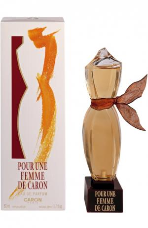 Парфюмерная вода Pour Une Femme Caron. Цвет: бесцветный
