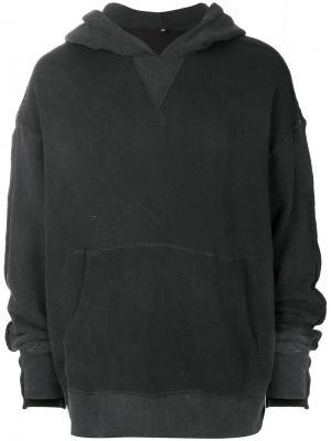 Classic long sleeved hoodie R13. Цвет: чёрный