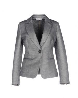 Пиджак KILTIE. Цвет: серый