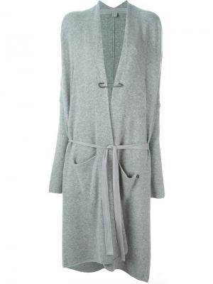 Кардиган No. 1 Extreme Cashmere. Цвет: серый