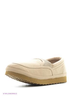 Ботинки ЭГО. Цвет: бежевый