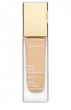 Тональный крем регенерирующий Extra-Firming Foundation 107 Clarins. Цвет: бесцветный