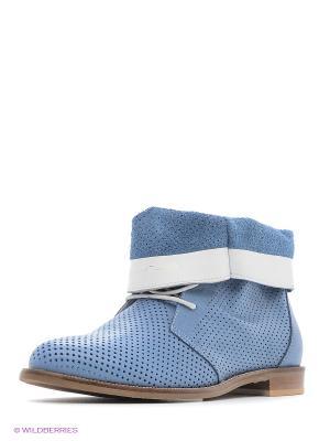 Ботинки Roccol. Цвет: голубой