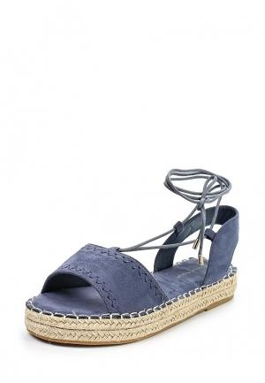 Сандалии Ideal Shoes. Цвет: синий
