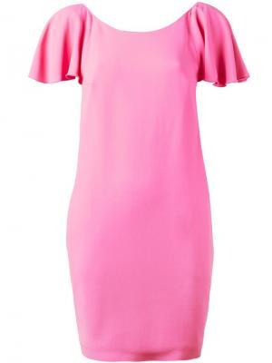 Платье Nihal Dondup. Цвет: розовый и фиолетовый