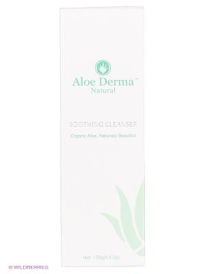 Лосьон успокаивающий и очищающий Aloe Derma. Цвет: белый