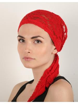 Бандана SHERONA. Цвет: красный