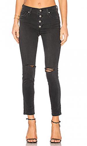 Скинни джинсы до лодыжек high class James Jeans. Цвет: none