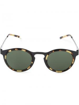Солнцезащитные очки Miki Kyme. Цвет: чёрный