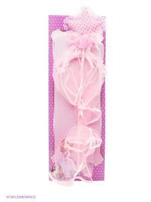 Заколки Софии ПрекраснойФеечка Daisy Design. Цвет: бледно-розовый, фиолетовый