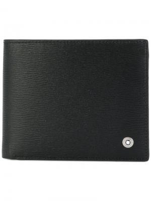Классический бумажник Montblanc. Цвет: чёрный