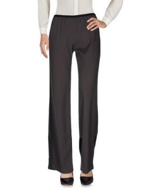 Повседневные брюки CALLENS. Цвет: свинцово-серый