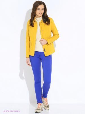 Куртка GEOX. Цвет: желтый