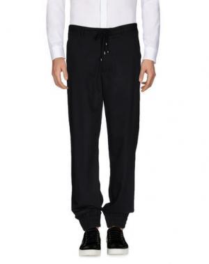 Повседневные брюки TOM REBL. Цвет: черный