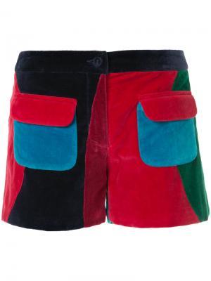 Шорты с накладными карманами Manish Arora. Цвет: красный