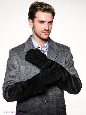 Перчатки SELECTED. Цвет: черный