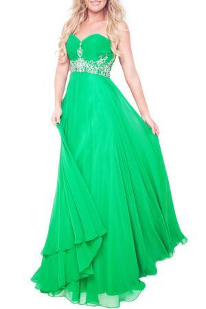 Вечернее платье Dynasty. Цвет: emerald