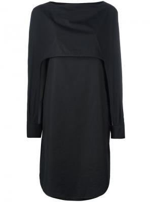 Платье Cuff Chalayan. Цвет: чёрный